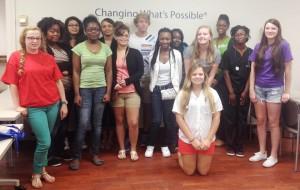 MUSC Nursing Career Camp Group 2014