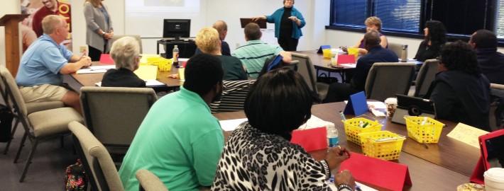 CTE Teachers in PD Oct 23