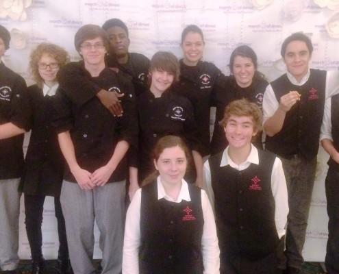 Wando Culinary Arts Students 2 Oct 2 2014