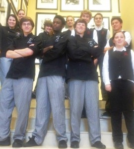 Wando Culinary Arts Students Oct 2 2014
