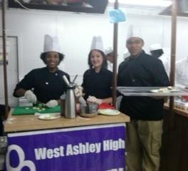 WAHS Culinary at Fair