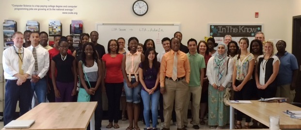 Group Picture from 2014 Summer Interns Orientation