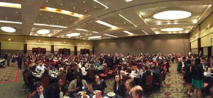 Panoramic Shot of Ballroom
