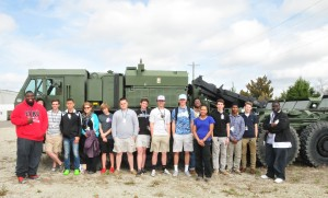 WAHS Spawar Field Trip March 2015