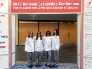 Wando FCCLA Team in Washington DC