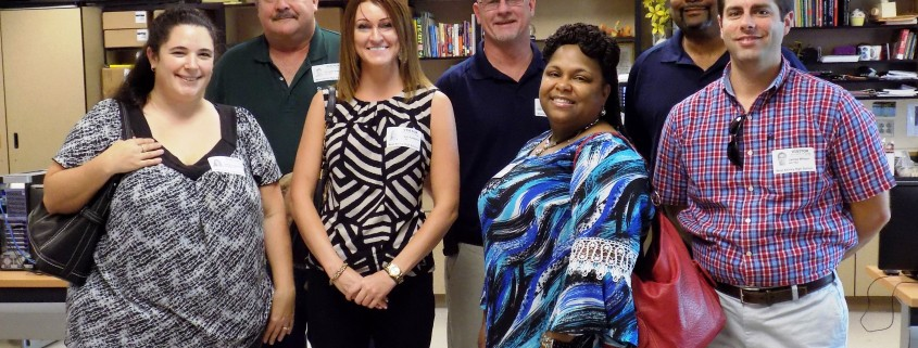 WAHS Charleston Water Systems Visit