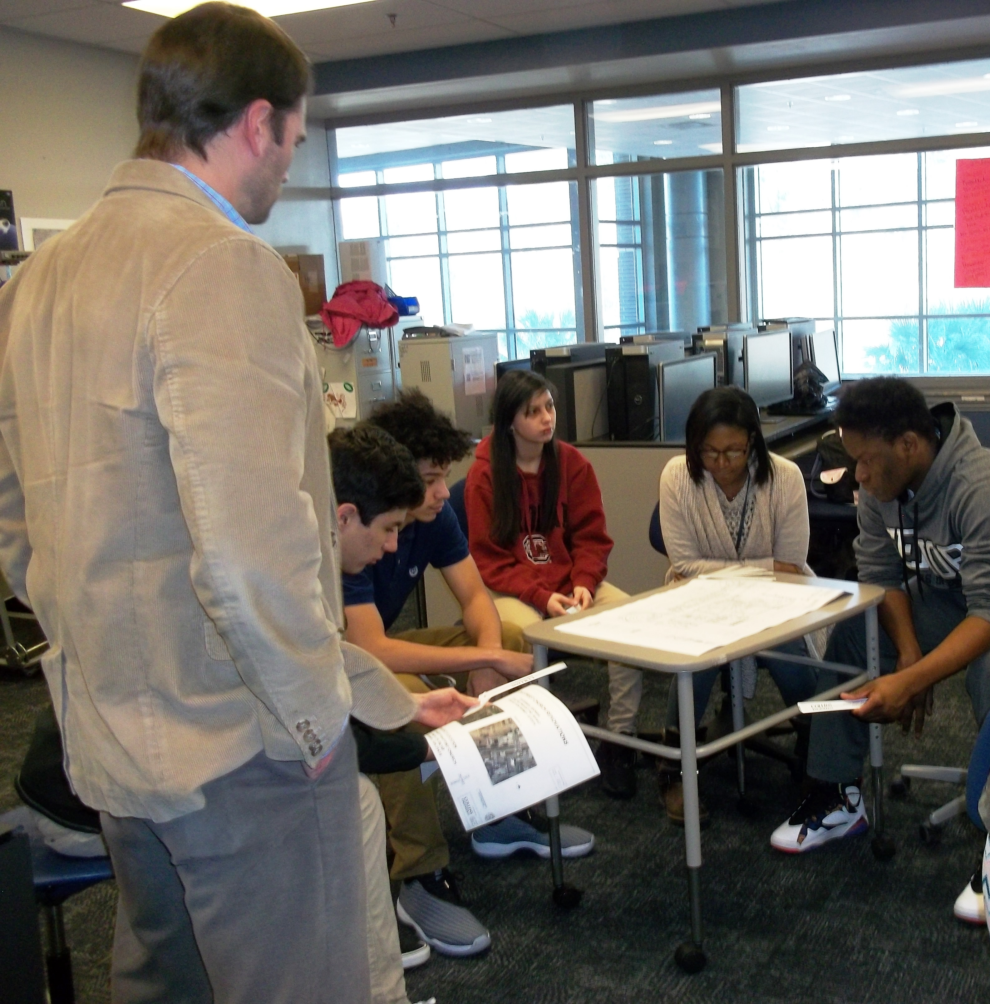 CCSD CTE   Local Architecture, Construction, and Engineering (ACE) Professionals Lead Lesson in ...