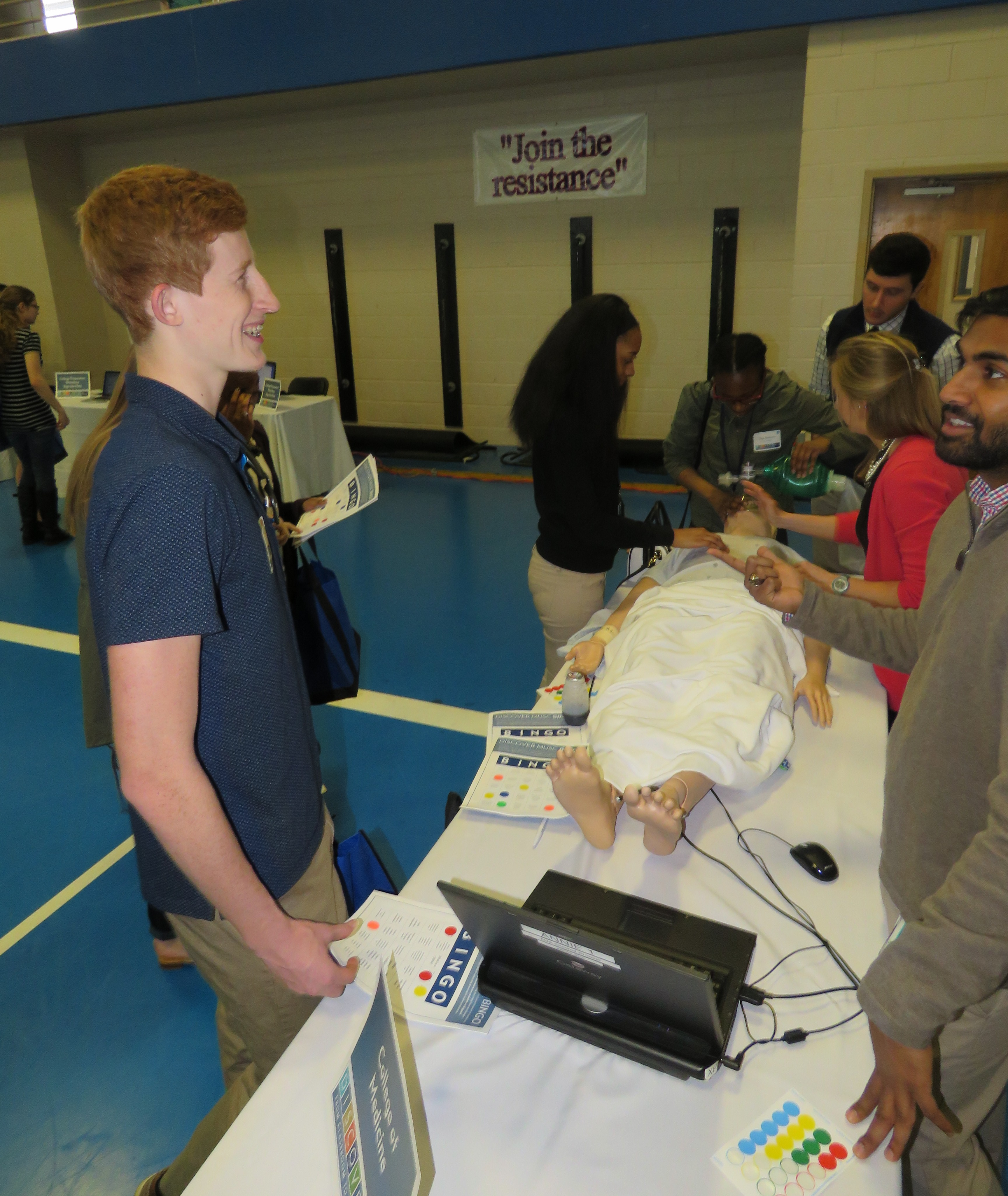 CCSD CTE | MUSC Hosts Campus Visit and Career Fair for