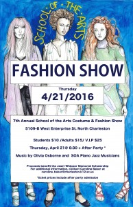 SOA FASHION SHOW 2016 POSTER