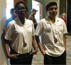 Ty'Celia Young and Joshua Sandoval- 3rd Mobile Robotics Technology