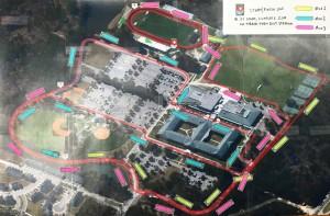 WA 5K Route Map