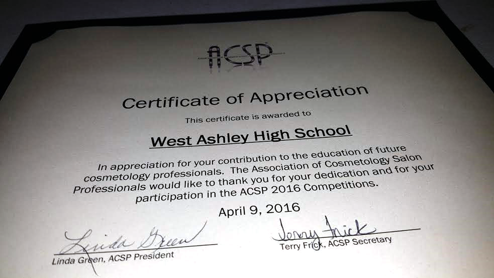 Ccsd Cte West Ashley Hs Nail Technology Students Earn First Place