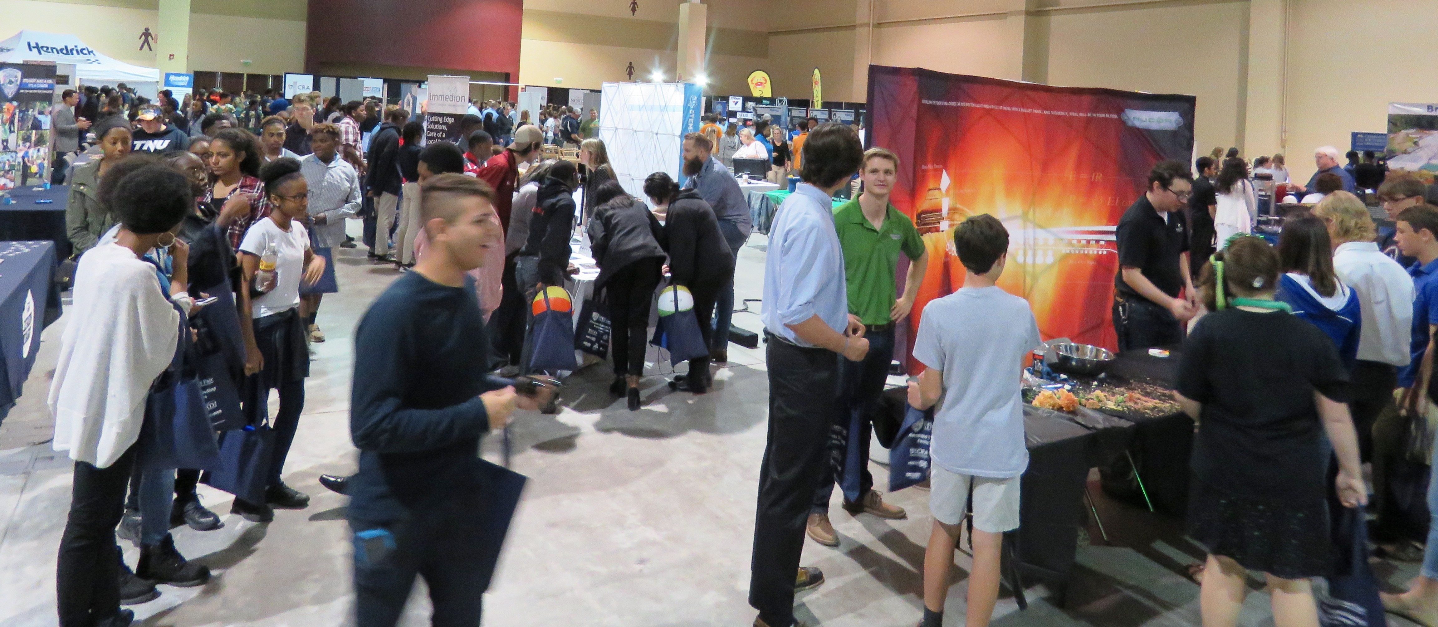CCSD CTE   Over 2000 Students Attend 2nd Annual High School STEM
