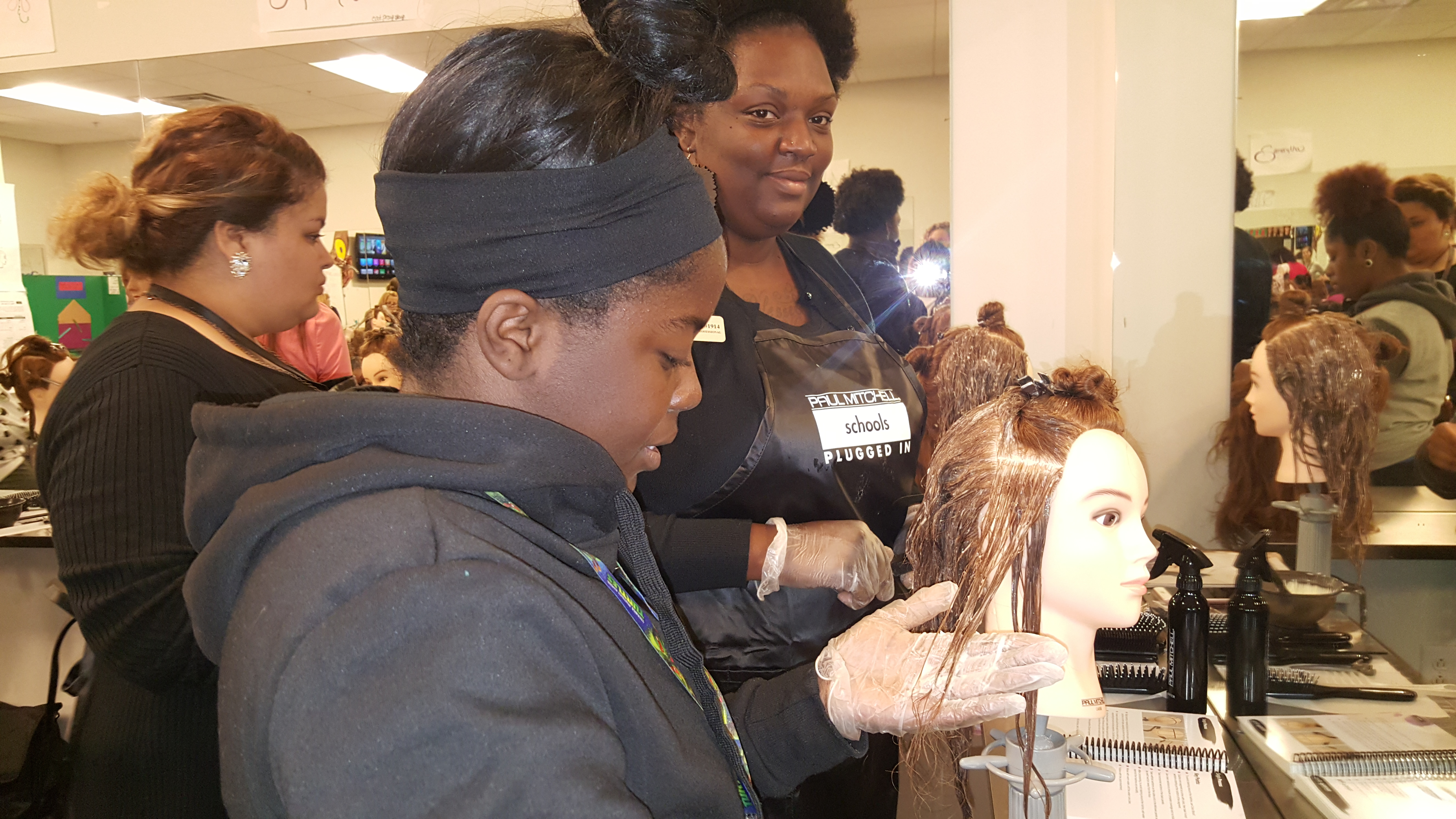 CCSD CTE | Students in West Ashley High School Nail Technology ...