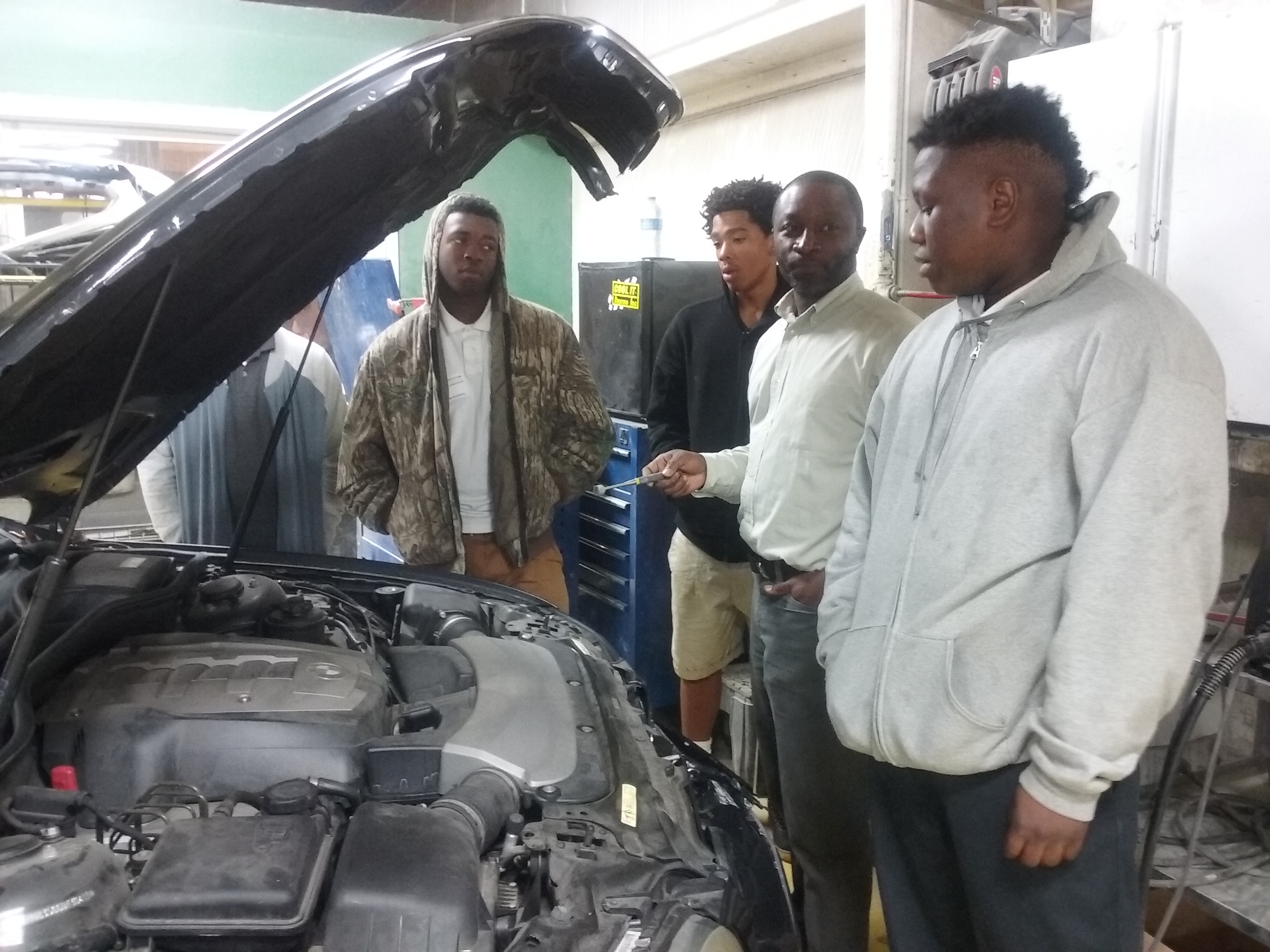 Ccsd Cte Students From Daniel Jenkins Academy Visit