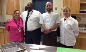 MMA Guest Chef w principal and teacher
