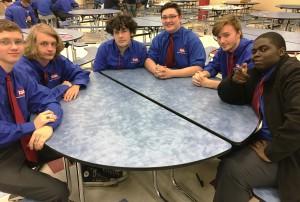 WAHS TSA students