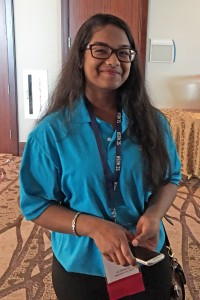 At the South Carolina HOSA State Leadership Conference each chapter was asked to choose one student as their outstanding member. The Outstanding Member was someone who participated in all of their team's events and activities. West Ashley High chose senior Laniya Correya as their Outstanding Member.