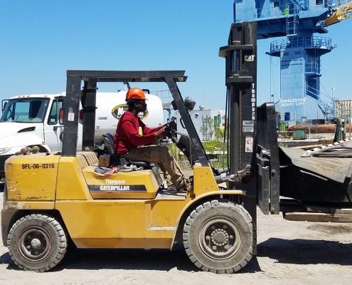 BHMHS Forklift 2