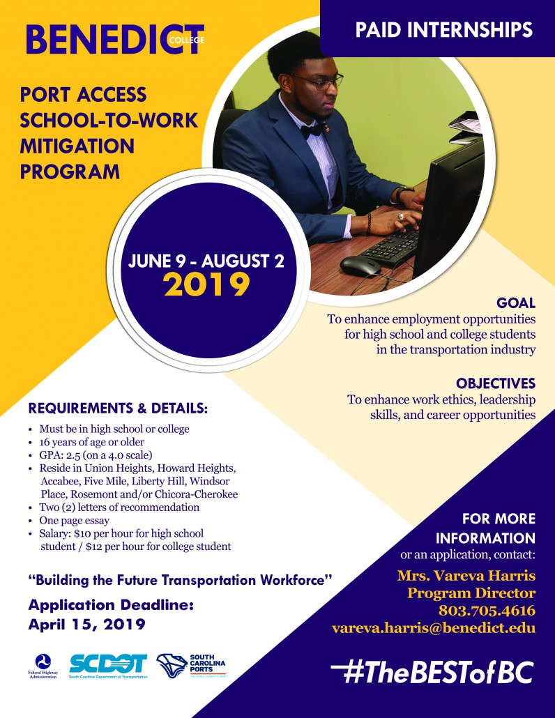 Port Access School-to-Work 2019